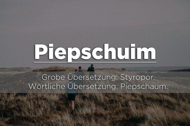 Lustige Niederländische Wörter
