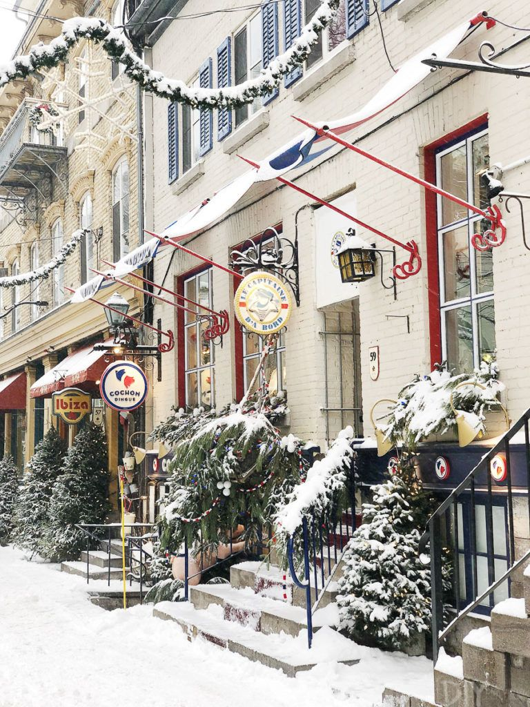 Quebec City Travel Guide Visiting in Winter The DIY