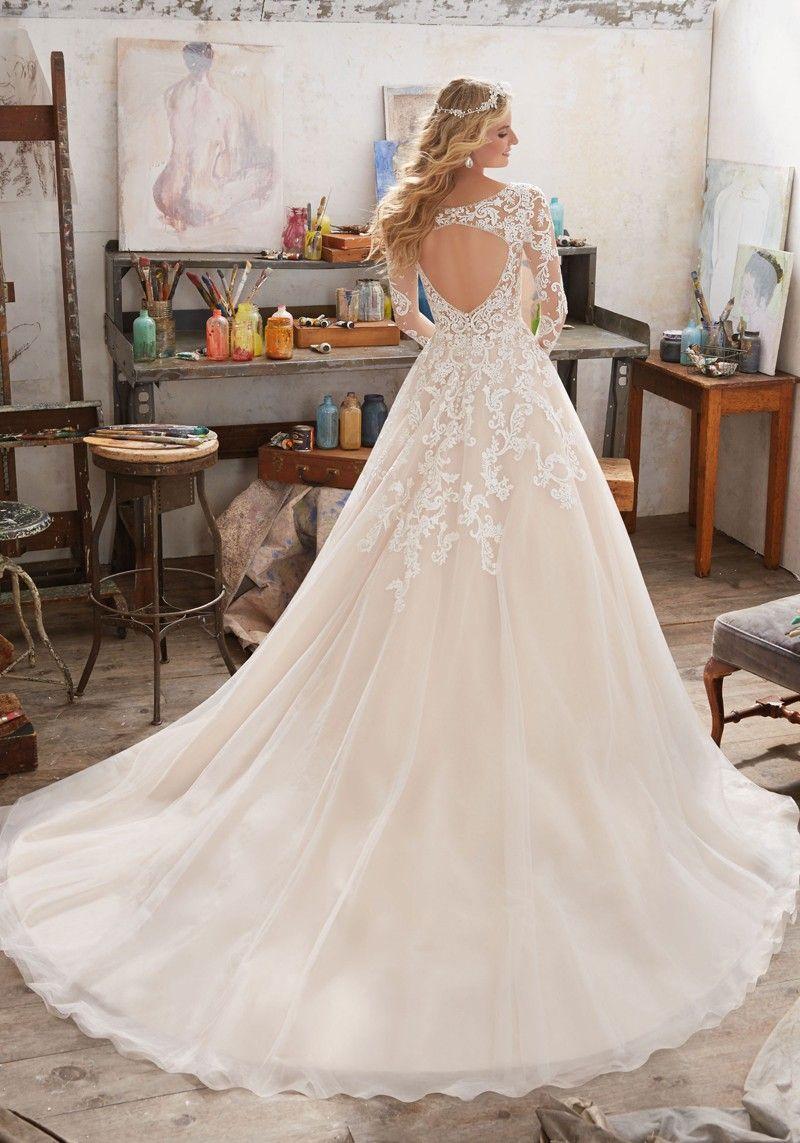 c0cbe3f746e5b Mori Lee 8110 Maira Wedding Dress in 2019   Joy and Jan Wedding ...