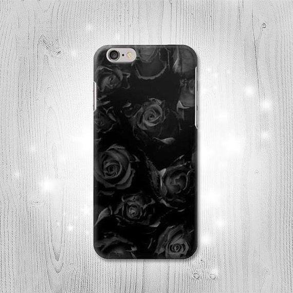 Black Roses Hard & Leather Flip Case Huawei P40 Mate 30 Pro | Etsy