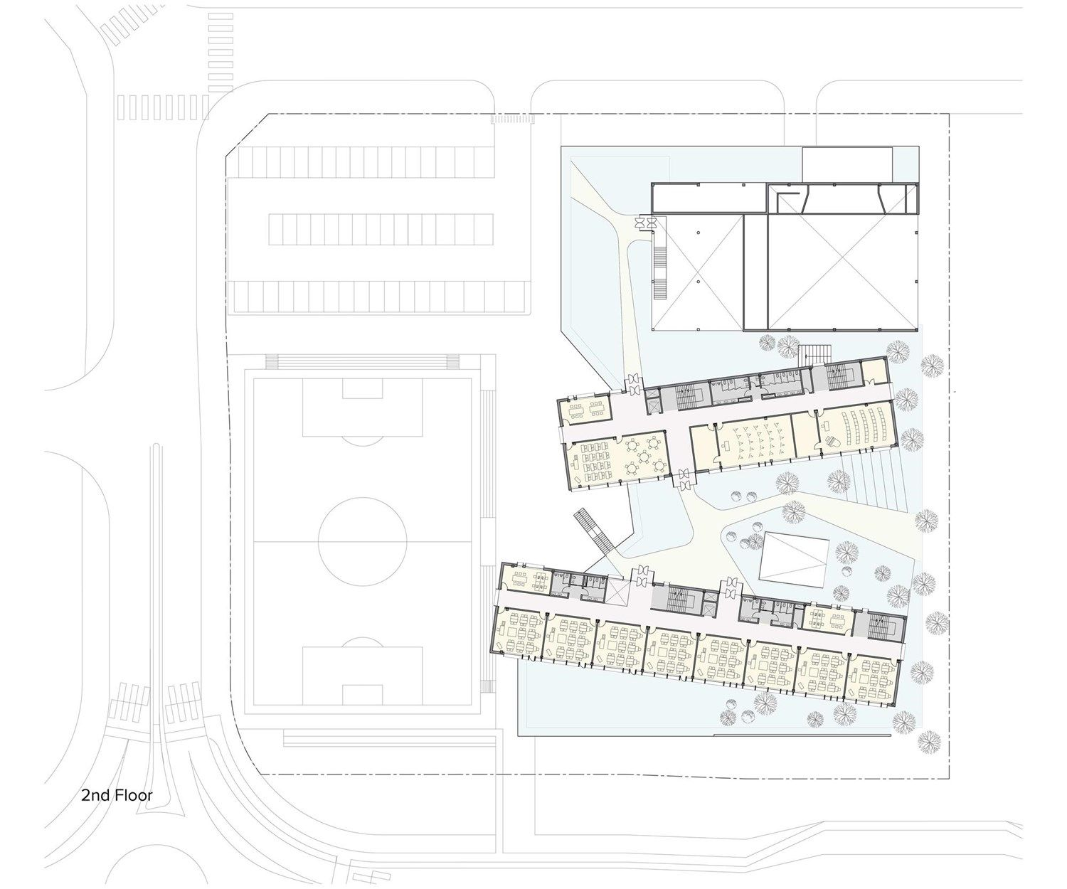 Competition Design For A New Elementary School In Baegot