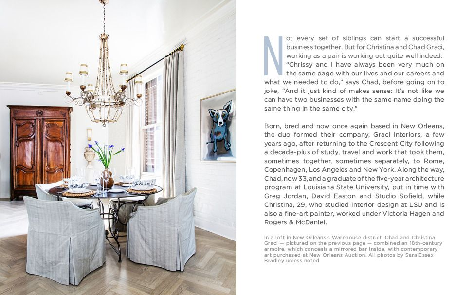 Graci Interiors Comes Home To New Orleans