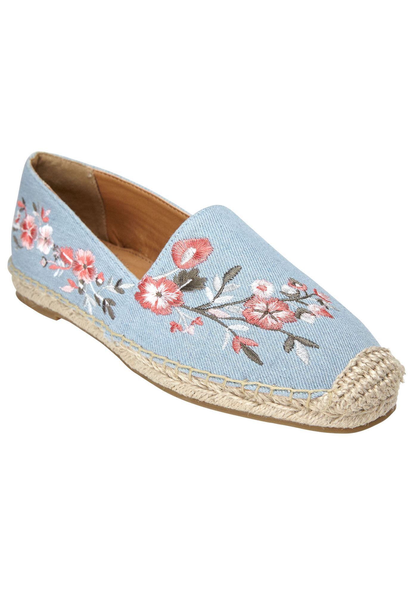 a7738e4f3c4 Amrisa Flats by Comfortview - Women s Plus Size Clothing