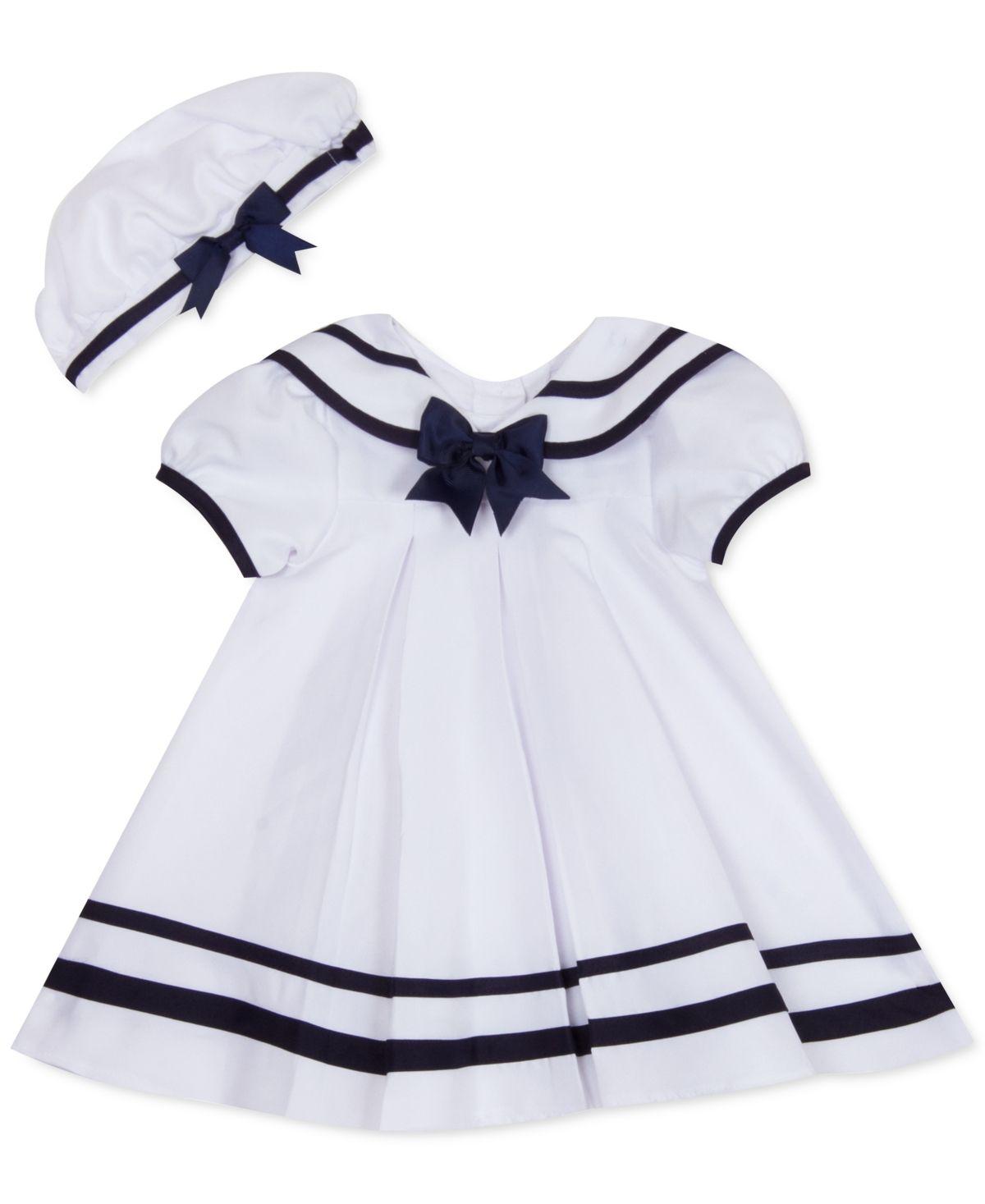 New Girl/'s 2pc White Sailor Dress
