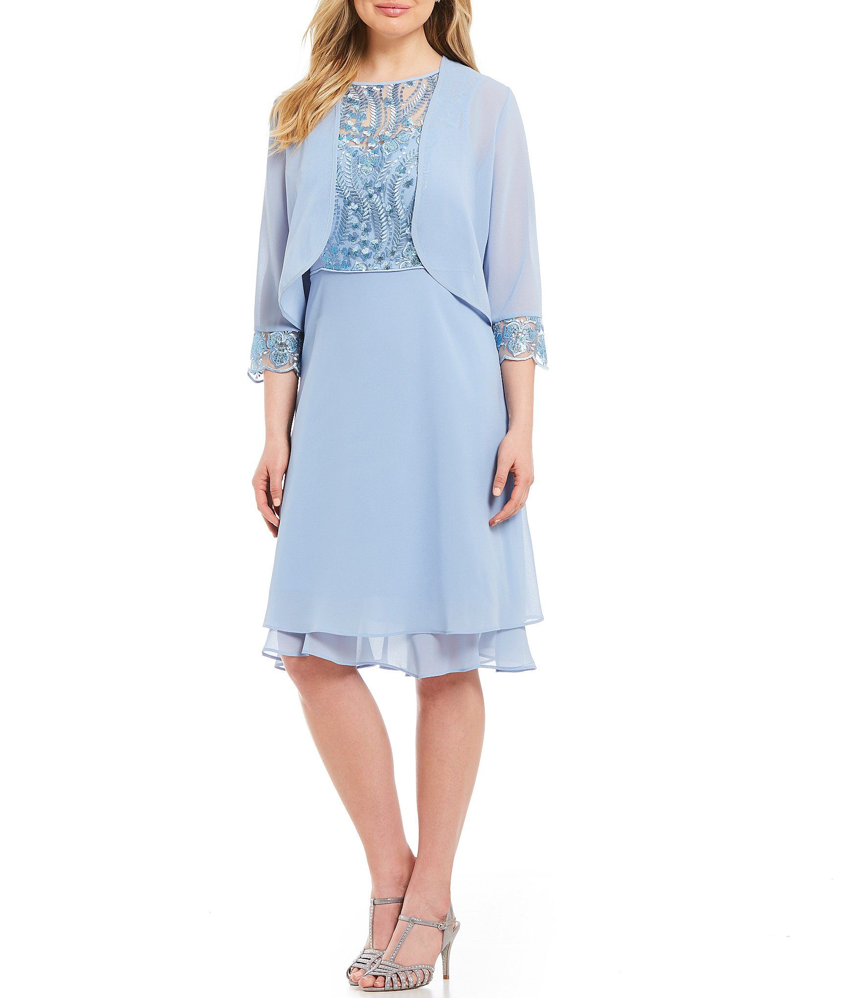 4d2b3a97a81 Shop for Le Bos Embroidered 2-Piece Jacket Dress at Dillards.com. Visit  Dillards.com to find clothing