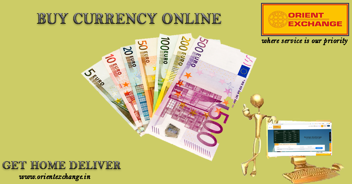 Pin by Orient Exchange on Buy currency online Delivery, Euro