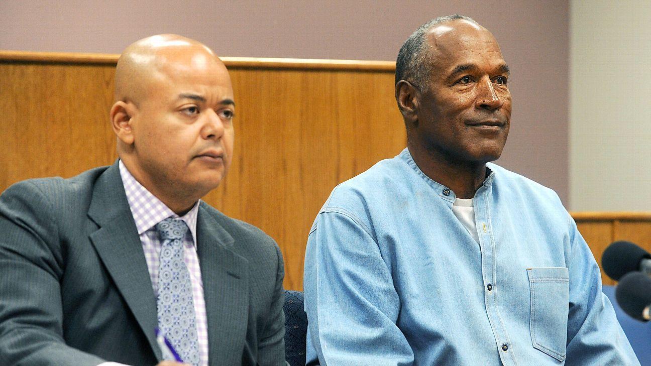 O.J. Simpson granted parole Parole, Prison, Oj simpson