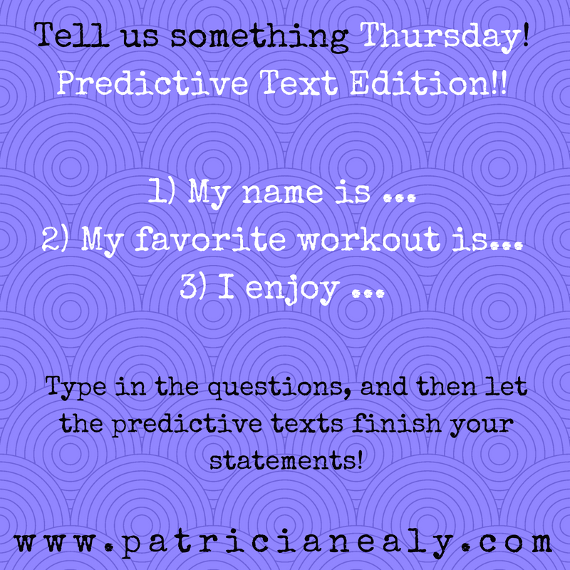 Let's play a game! Start the sentence and let your predictive test