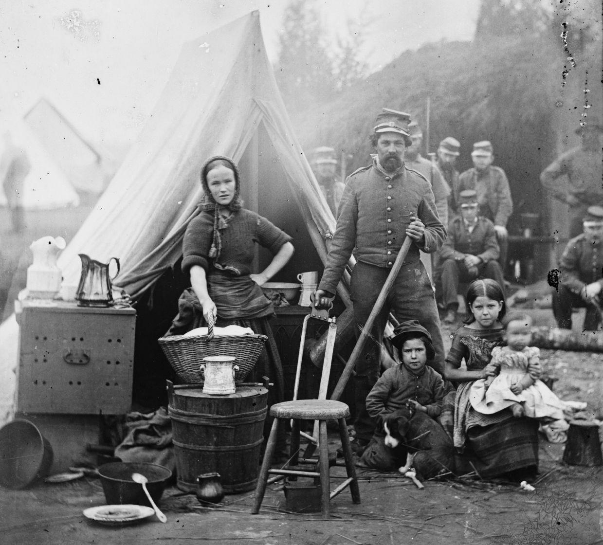 American Civil-War Family