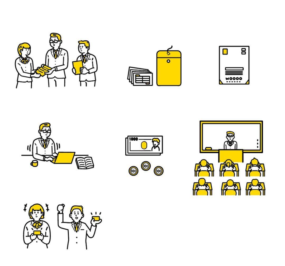 臨床試験マッチングサイト ランディングページ Buzzreach イラストレーション 挿絵 図解 ランディングページ Web 健康食品 モニター グラフィック デザイン アイコン Illustration Adobe Illustrator 挿絵 イラスト 手書き 図解