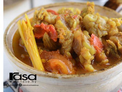 Asam Rebus Daging Tetel Asian Recipes Food Recipes