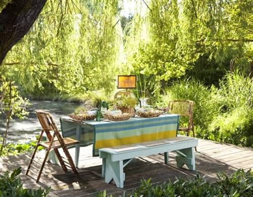 12 Simple Tips For Summer Party Table Setting And Outdoor Home Decor Ideas