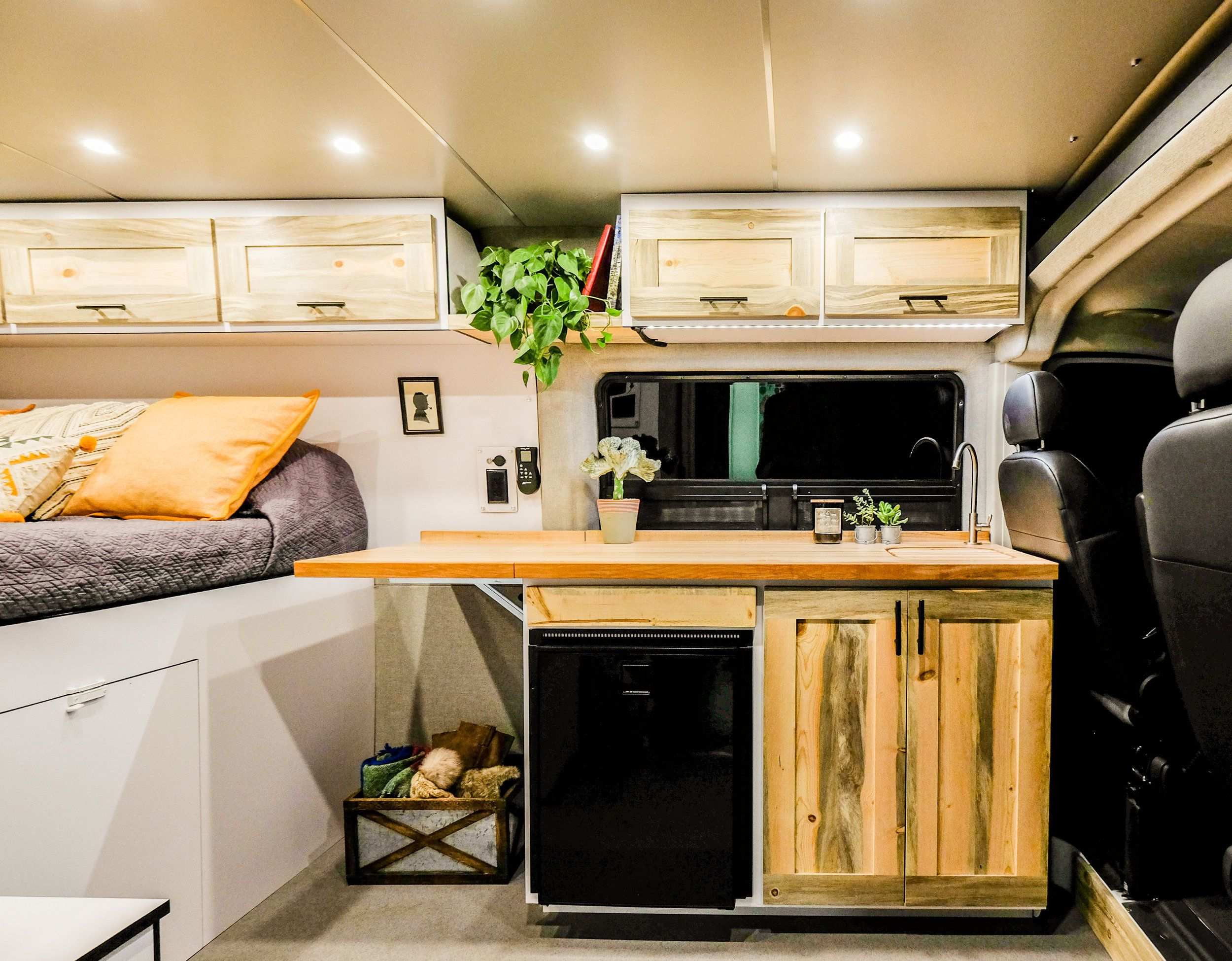 "Vanlife Customs: Ponderosa 159"" Promaster Camper Van"