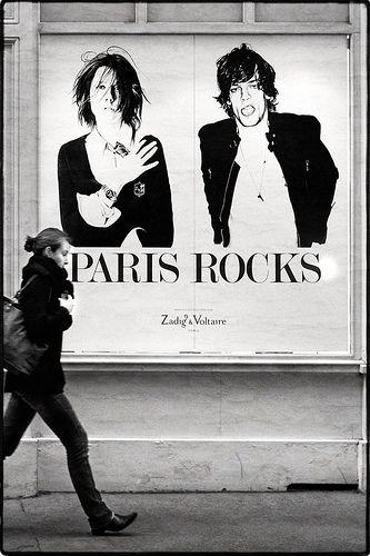 26. Мне нравится настроение этого бренда. Правда, не нравится их ценовая политика :) Zadig & Voltaire - poster PARIS ROCKS!!! #JetSetBeauty