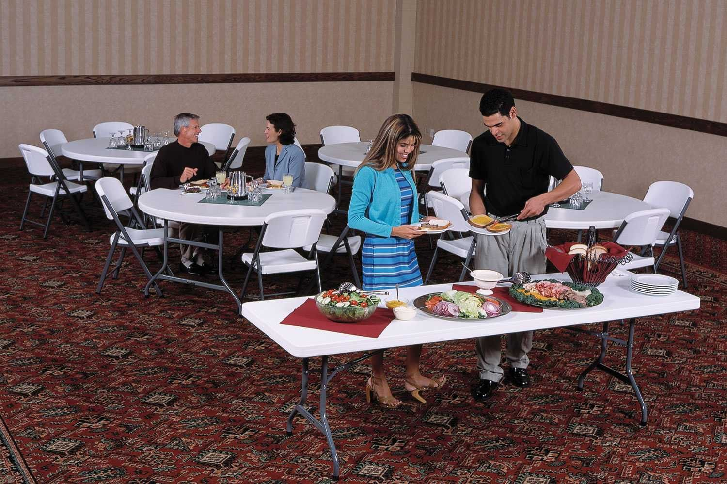 Pin By Competitive Edge Products Inc On Lifetime 8 Ft Banquet Tables Table Banquet Tables Lifetime Tables