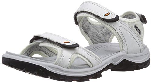 2e0df35bd21d8 ECCO Womens Offroad Lite Rainer Sandal Outdoor Sandal WhiteShadow White 37  EU665 M US -- For more information, visit image link.