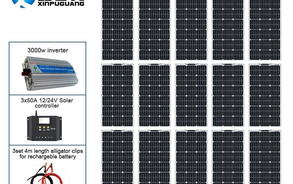 Buy Now On Aliexpress View On Aliexpress 110v 220v 1500w Solar Kit Off Grid System 15pcs 100w Flexible Solar In 2020 Solar Kit Flexible Solar Panels Solar System Kit