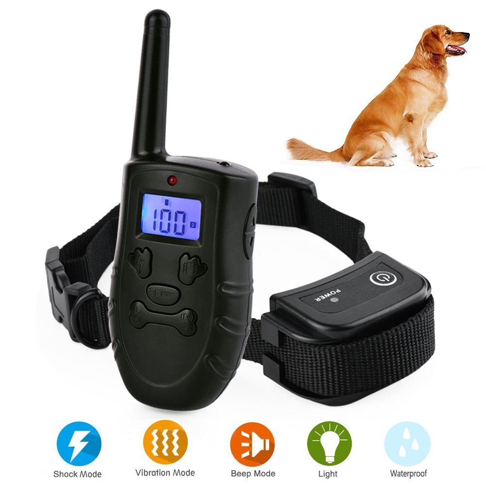 Blueisland Dog Shock Collar With Remote Rechargeable Dog Training