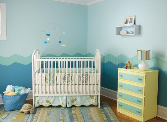 Ideas para pintar la habitación del bebé | Decoración | Pinterest ...
