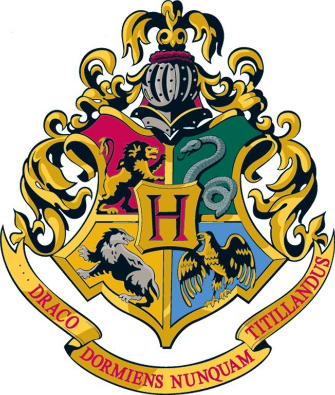 harry potter hogwarts logo google search harry potter the wizarding world pinterest. Black Bedroom Furniture Sets. Home Design Ideas