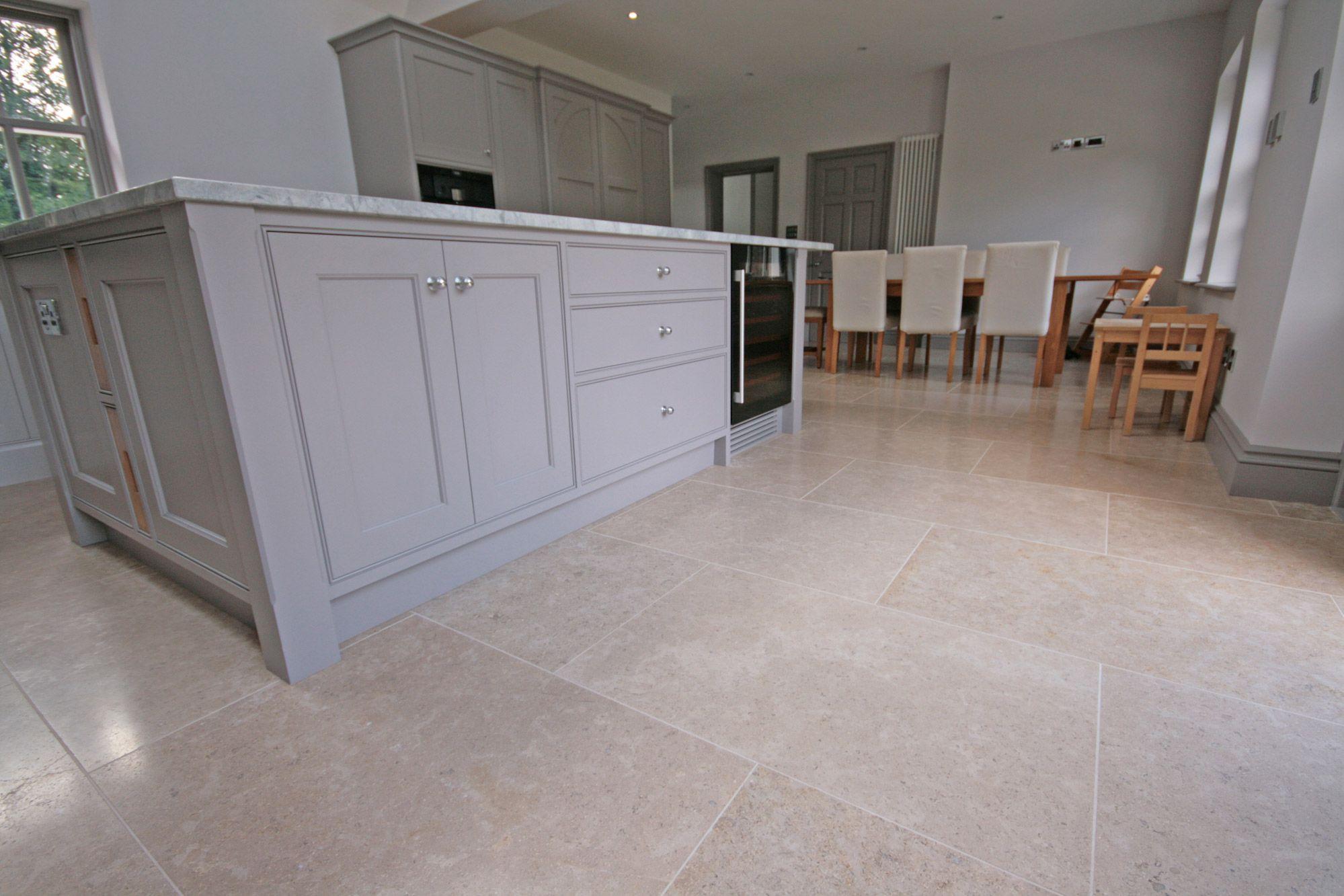 Dijon limestone flooring ideas kitchens and house dijon brushed limestone floor tiles limestone dailygadgetfo Images