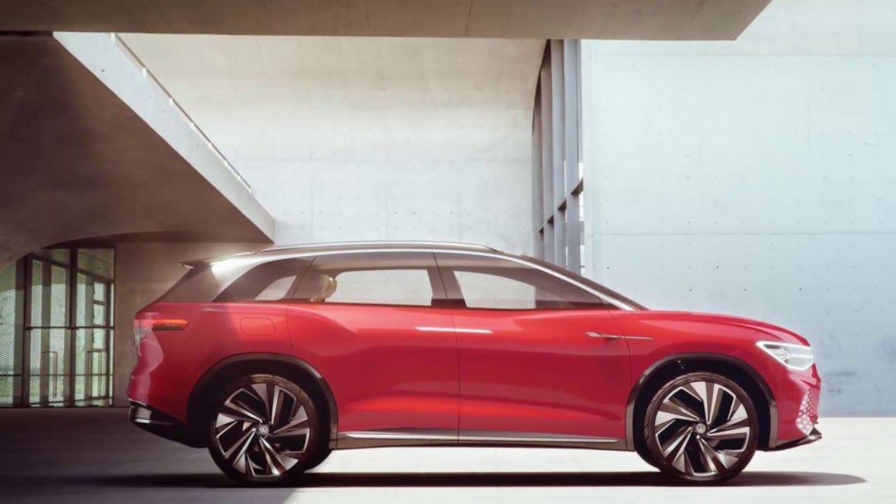 volkswagen says this id roomzz electric suv concept will