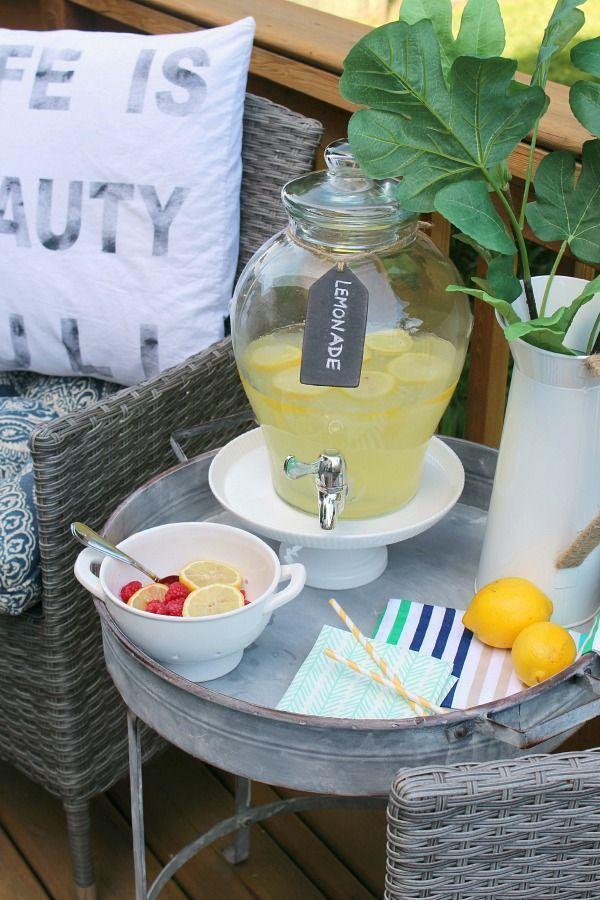 Flavored Lemonade Bar #flavoredlemonade Love this industrial table and pretty lemonade bar! #flavoredlemonade Flavored Lemonade Bar #flavoredlemonade Love this industrial table and pretty lemonade bar! #flavoredlemonade