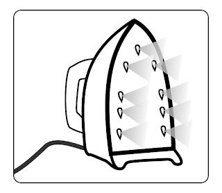 Your steam iron: a mighty weapon in the fight against curling and flipping