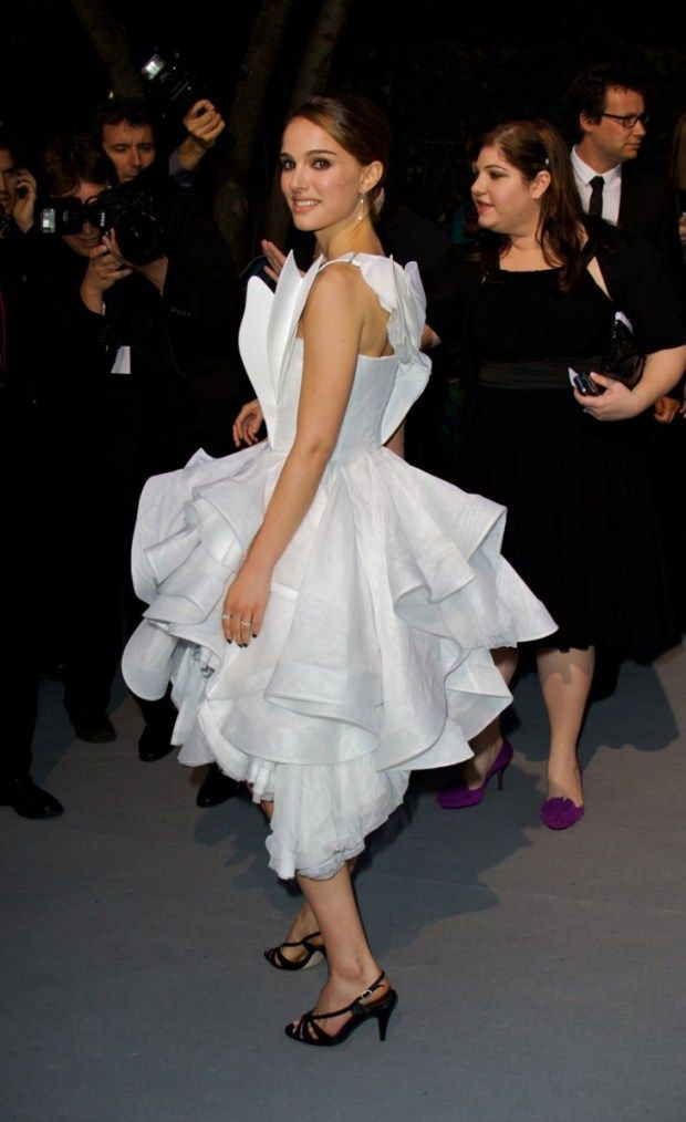 Natalie Portman, in Givenchy, 2008