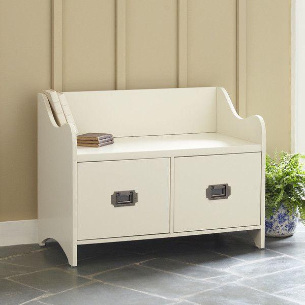Edwards 2-Drawer Storage Bench