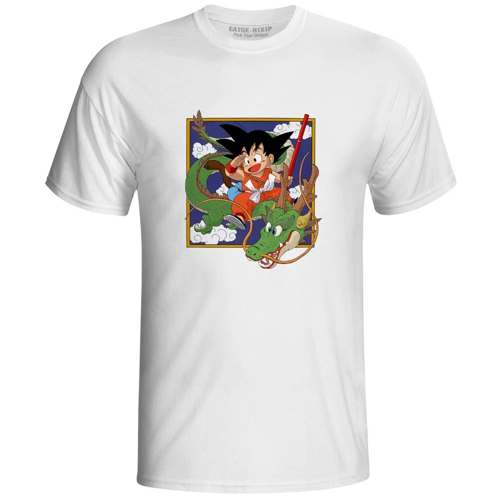 Dragon Ball Manga Cover Son Goku Riding On Shenron Goku Anime Hoodie Shenron