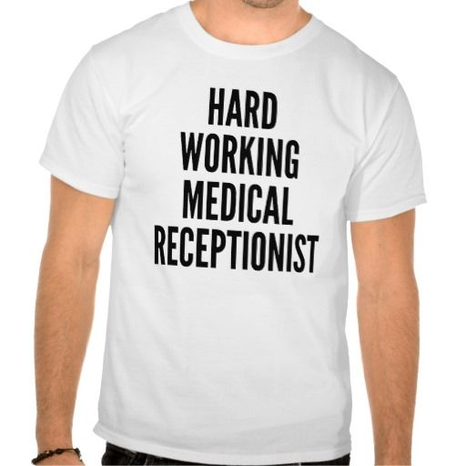 Hard Working Medical Receptionist Tee T Shirt, Hoodie Sweatshirt - medical receptionist