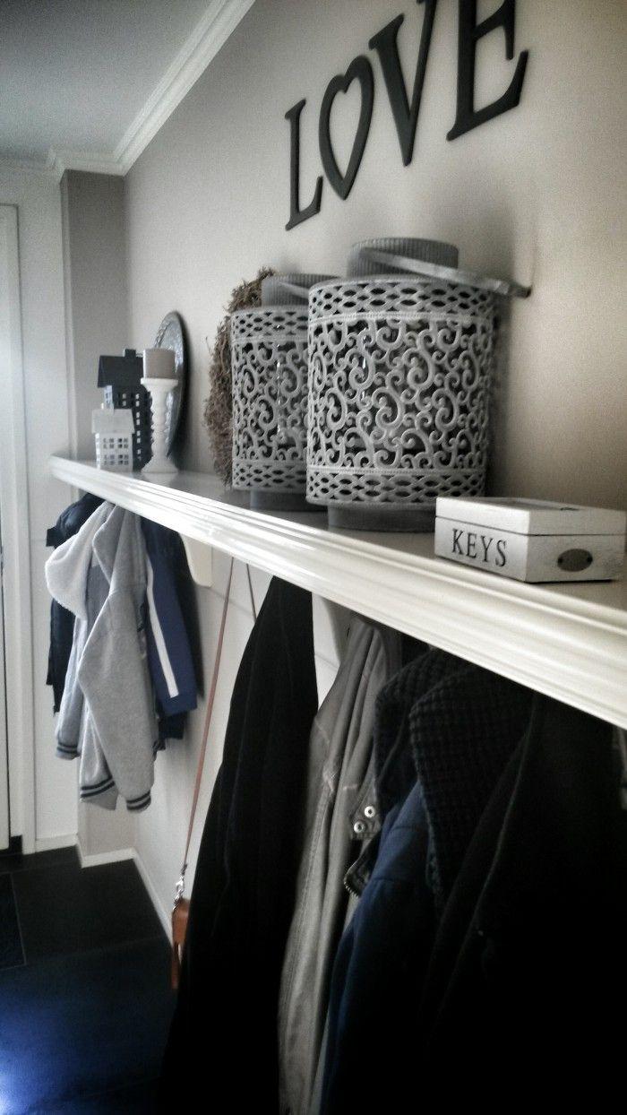 Van, Coat hooks and Planks on Pinterest
