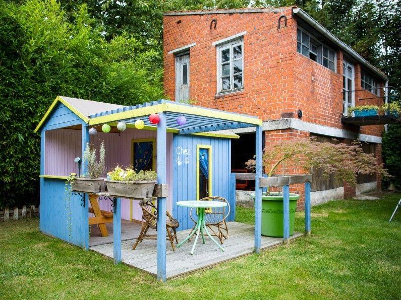 Cabane Grange Jardin Bleu Soulet Maisonnette En Bois Cabane Maisonnette Enfant