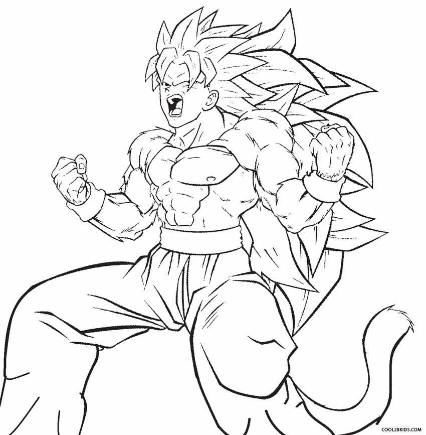 Printable Goku Coloring Pages For Kids Cool2bkids Cartoon Coloring Pages Coloring Pages Cool Coloring Pages