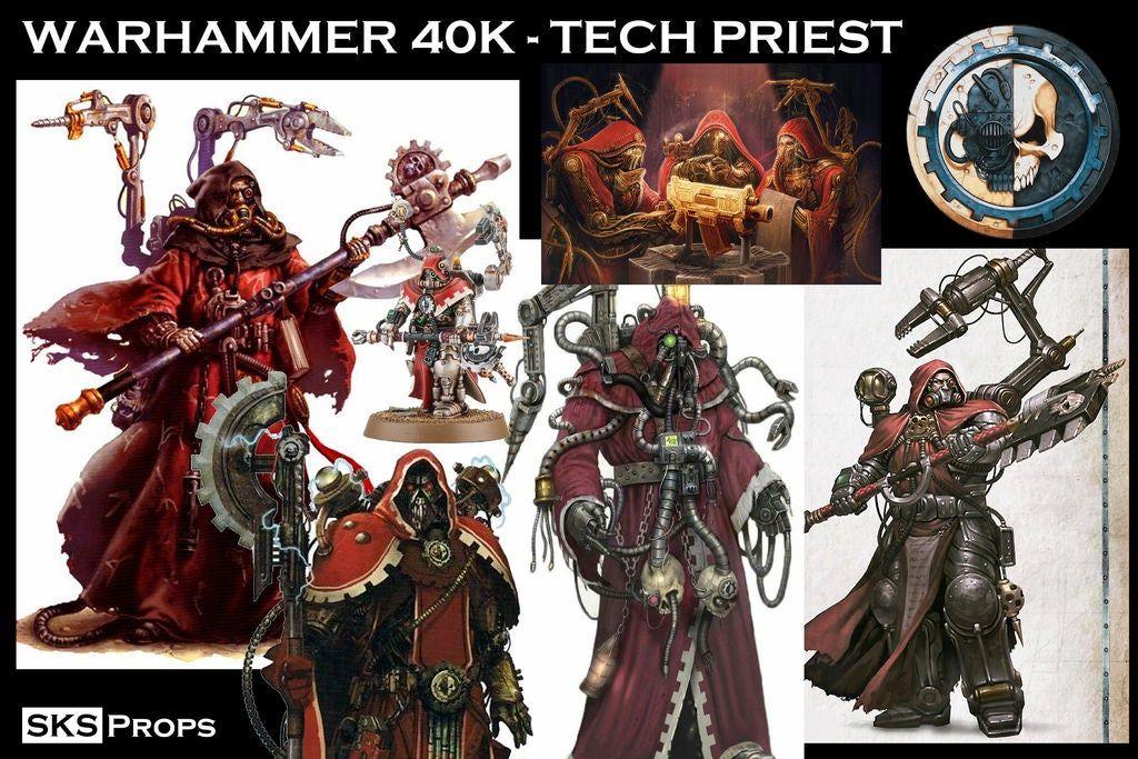 Tech Priest Cosplay Tutorial