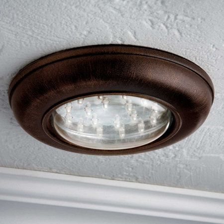 Battery Operated Remote Control Ceiling Light No Electrical Work