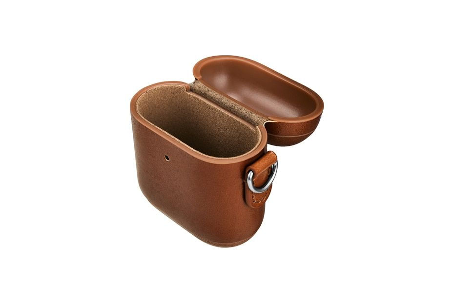 For Apple Airpods 2 Case Top Genuine Leather Case For Airpods