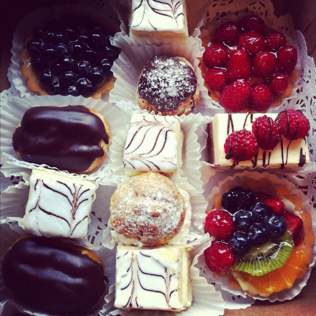 French pastries from douce france bakery in palo alto ca
