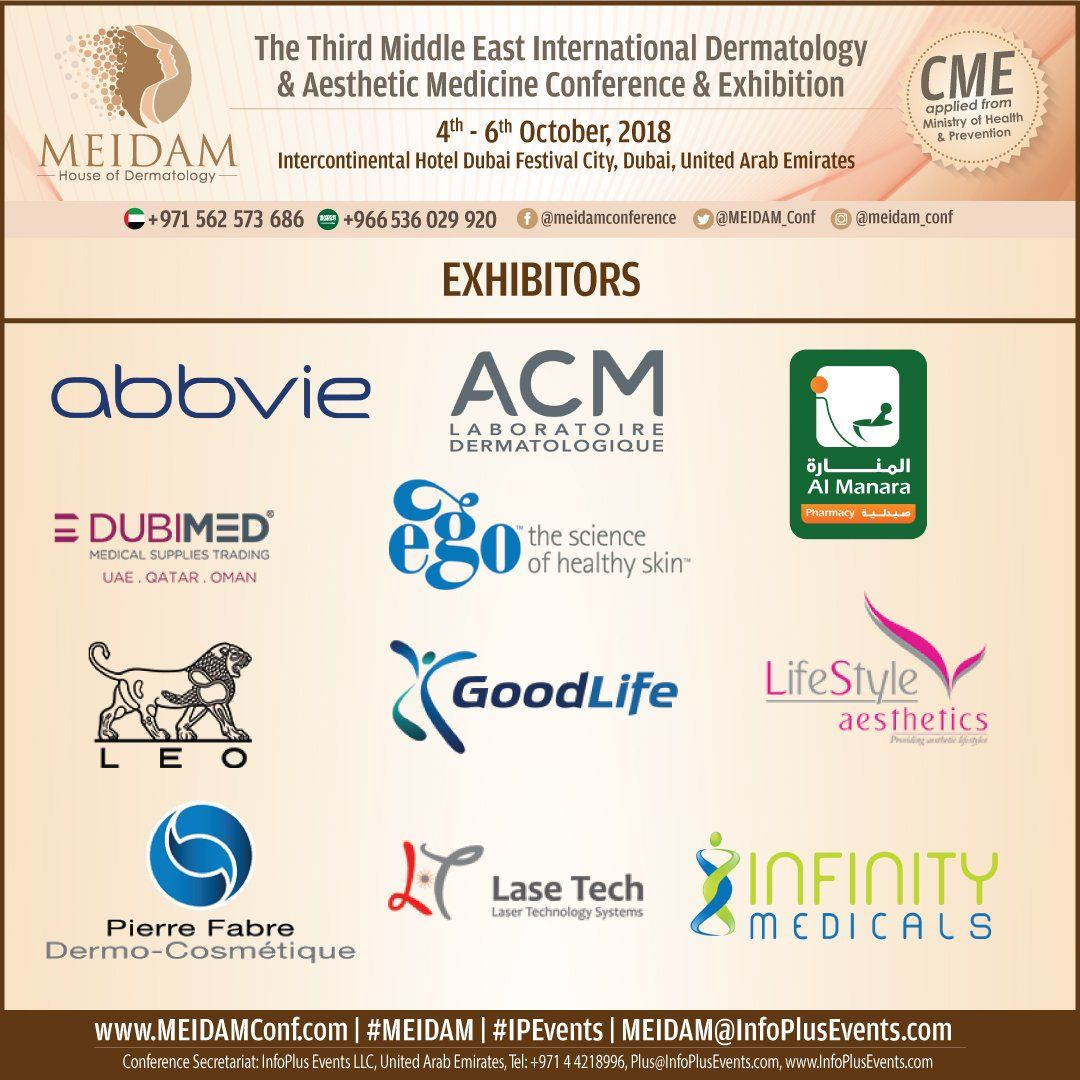 Join us at MeidamConference UAE Aesthetic medicine