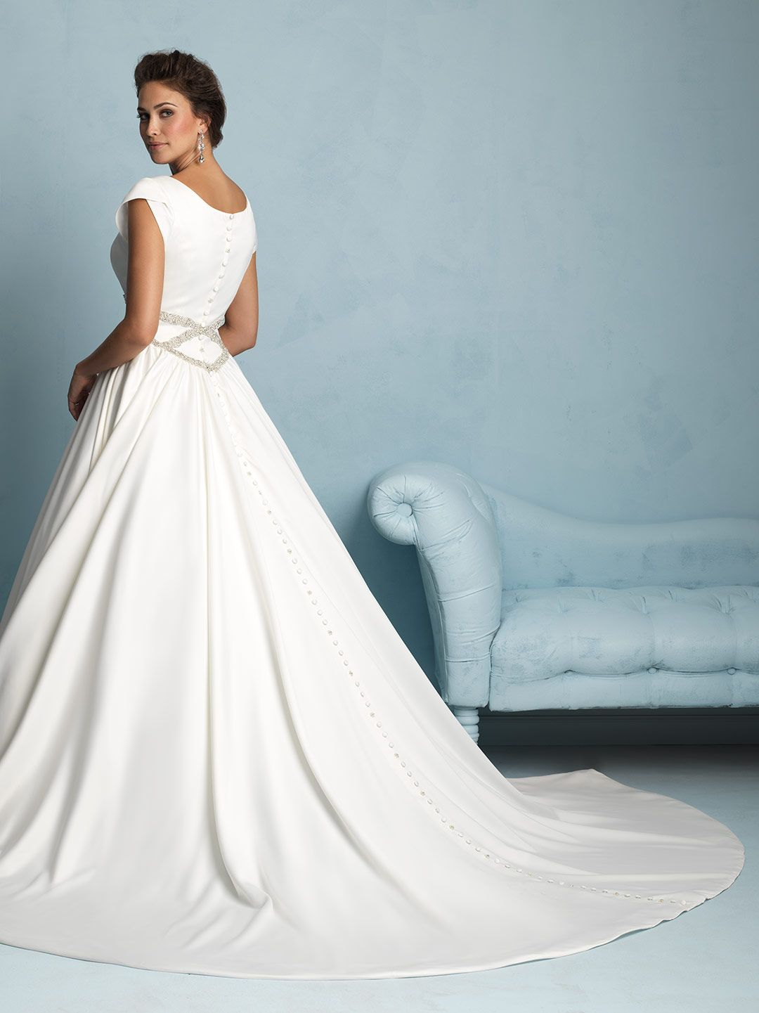 Allure Bridals: M535 | ALLURE M O D E S T | Pinterest | Allure ...