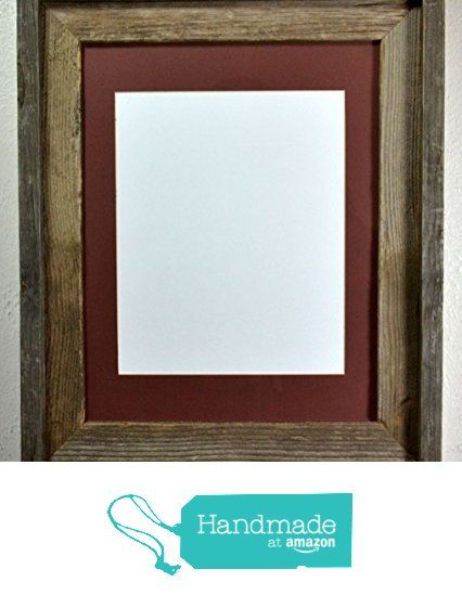 Picture Frame 8x10 Mat Without Mat 11x14 Reclaimed Wood Made in USA ...