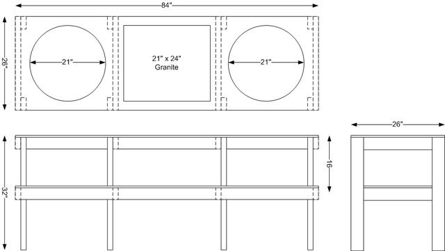 Bge Table Plans The Bbq Brethren Forums Big Green Egg Table Plans Big Green Egg Table Big Green Egg Table Plans Large