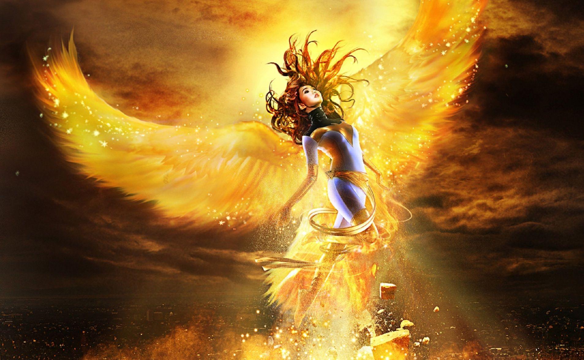 Phoenix Girl Google Search Awesome Anime Phoenix Jean Grey