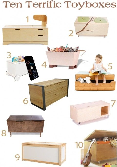 10 Types Of Toy Organizers For Kids Bedrooms And Playrooms: 10 Toyboxes Because You Have To Put The Playroom Toys Away