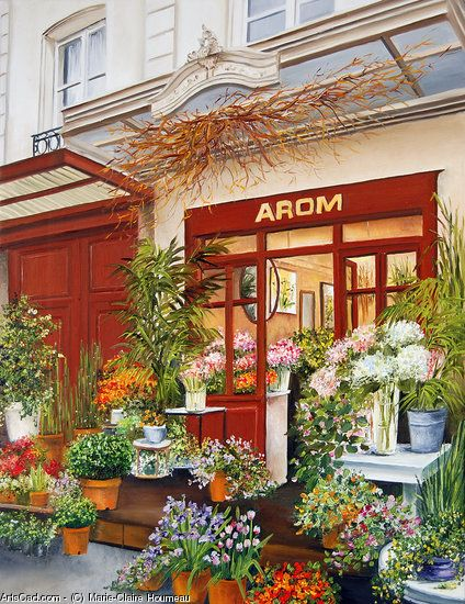 Marie Claire Houmeau Fleuriste Arom Paris Fleuriste Paris