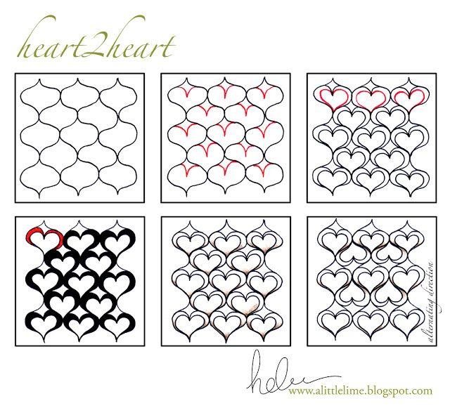 Ein wenig Kalk: Heart2Heart - MUSTER