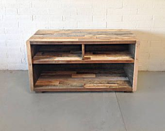 Reclaimed Wood Tv Stand Etsy Dogwood Manor Pinterest