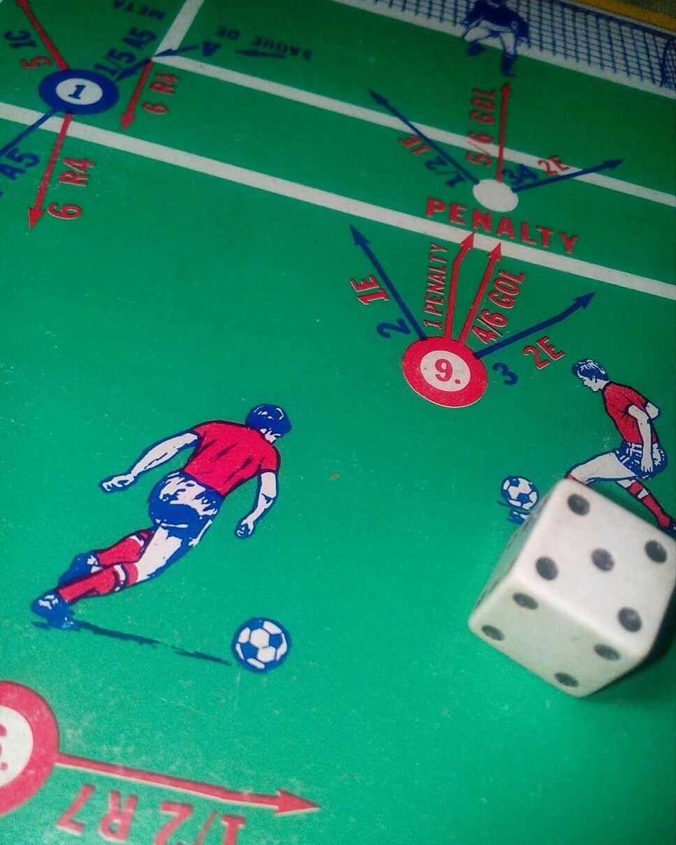 Juego De Mesa Futbol Game Retro Vintage Toys Toy Juguetes Today