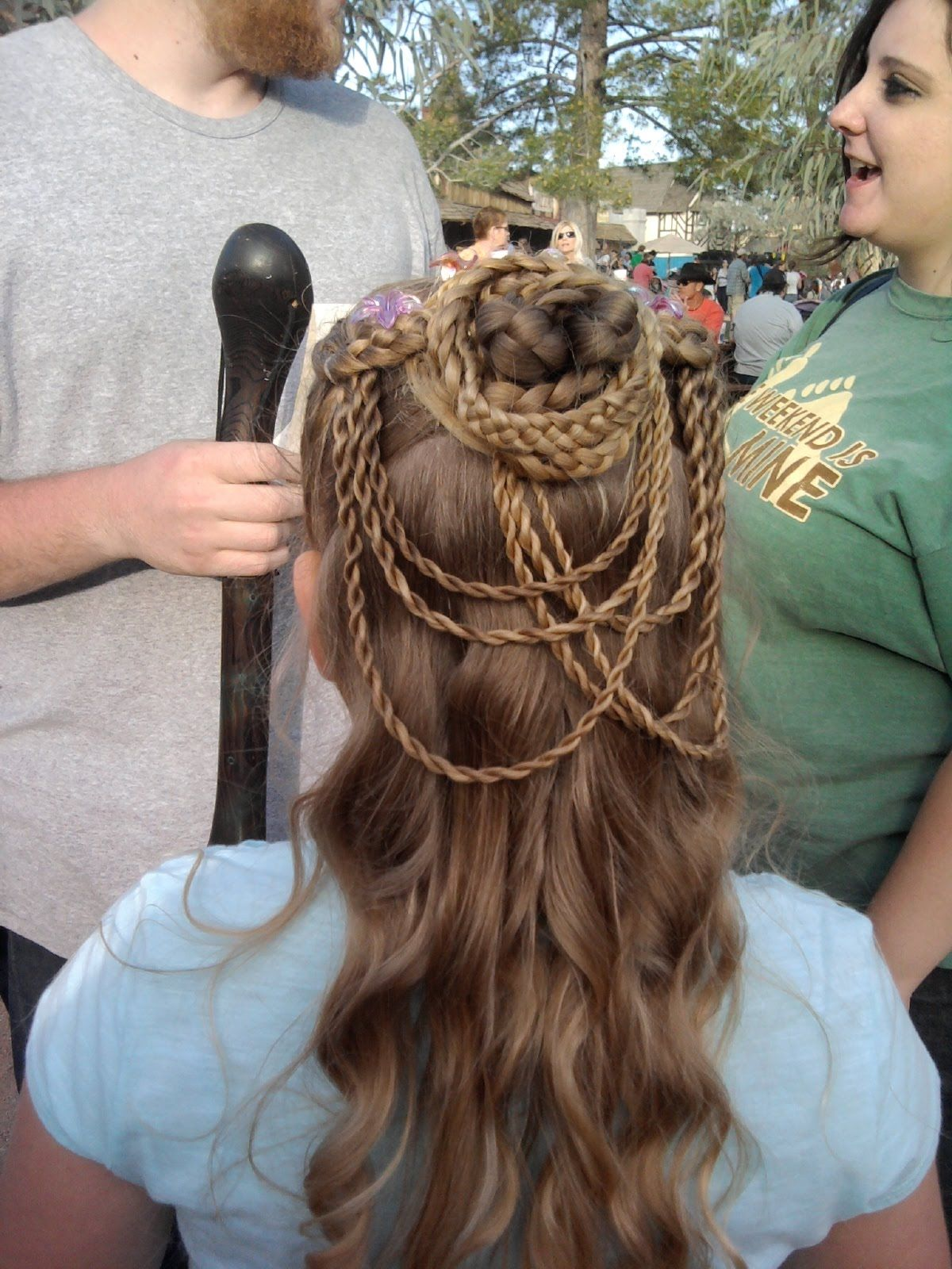 medieval hairstyles | girls~curls~♥: renaissance festival